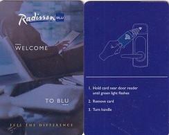 ESTONIA - Radisson BLU, Hotel Keycard, Used - Chiavi Elettroniche Di Alberghi
