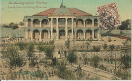 CHINE EXHIBIYION BUILDING TIENTSIN   BÂTIMENT D'EXPOSITION TIENTSIN  Circulée En 1909 - Chine