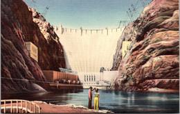 Nevada-Arizona Hoover Dam Union Pacific Railroad Card - Other