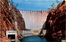 Nevada-Arizona Hoover Dam From Downstream - Other