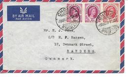 Rhodesia & Nyasaland. Airmail. Cover Sent To Denmark 1959.  H-950 - Rhodesia & Nyasaland (1954-1963)