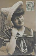 CPA -  MARIE - Vintage PHOTO POSTCARD - Women