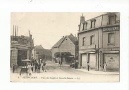4.  AUDINCOURT    -   Place Du Temple Et Nouvelles Galeries - Unclassified