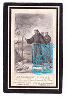 DP Algemeen Overste RK Gasthuis Breda - EZ Gerardina Kloon - Zr. Maria Alphonse ° Oosterhout NL NB 1824 † Breda 1894 - Devotieprenten