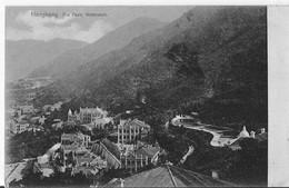 CHINE THE PEAK WATERWORK   Le Point D'eau  Circulée En 1909 Texte Verso Suivi Sur 2 Cartes   Ici Texte II - Chine