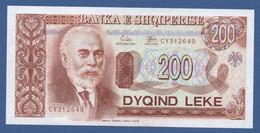 ALBANIA - P.56 –  200 LEKE 1994 UNC  Serie CY312649 - Albania