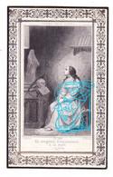 DP Julien Joseph Cocheteux ° 1798 † Templeuve Tournai BE 1864 / Imp. Roubaix FR - Devotieprenten
