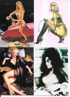 BG49 - PROMO CARDS COMIC IMAGES - GIL ELVGREN - JULIE STRAIN - SORAYAMA - Other Playing Cards