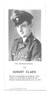 Antwerpen Anvers August Claes Oostfronter Gefusilieerd 1945 Wereldoorlog - Obituary Notices