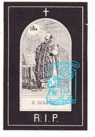 DP Franciscus Leopoldus DeKemel ° Diksmuide 1847 † 1887 X Anna Theresia Deleu // H. Ignatius - Devotieprenten
