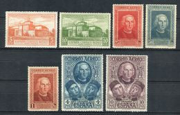 España 1930. Edifil 559-65 ** MNH. - Neufs