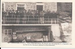 DORANGES - Fête D'Inauguration Du Foyer Des Campagnes Le 22 Septembre 1929 - Sortie Du Banquet (Hôtel FAYE-VERNET) - Otros Municipios