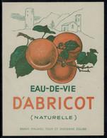 Eau-de-Vie D'Abricot De Saxon (Suisse) - Fruits & Vegetables