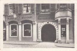 """AK - GRAZ - Sackstr. 10 - Gasthaus """"Bierjackl"""" (Georg Jirauschek) 1929 - Graz"""