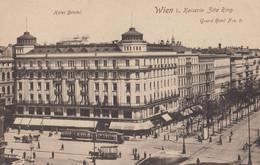 """AK - Wien I. - """"Kaiserin Zita Ring"""" Mit Hotel Bristol Und Grand Hotel 1918 - Ringstrasse"""