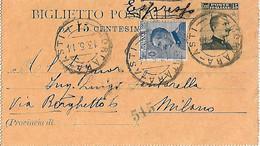 BIGLIETTO POSTALE - Espresso - V: 1914 - Poste & Postini