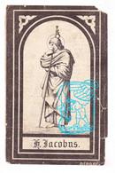 DP Josephus Jacobs ° Hulshout 1823 † 1894 X Maria Theresia Van Dyck - Devotieprenten