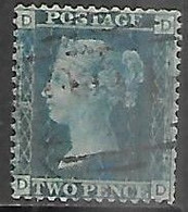 GB  1858   Sc#29  2p  Used  Plate 8  2016 Scott Value $40 - Used Stamps