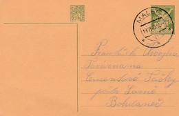 Czechoslovakia, Stationary, Canc Elled Maleč, 14.VI.26 - Cartas