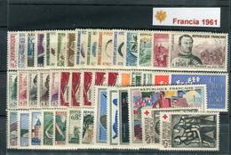 Francia 1961. Completo ** MNH. - 1960-1969