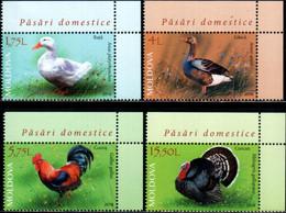 "Moldova 2018 ""Domestic Poultry"" 4v Quality:100% - Moldavia"