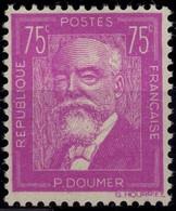 FRANCE 292 ** MNH Paul DOUMER Président De La République Assassiné 1935 (CV 92 €) - Nuevos