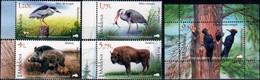 "Moldova 2018 ""Fauna From The «Pădurea Domnească» (Princely Forest) Nature Reserve"" SS & 4v Quality:100% - Moldavia"