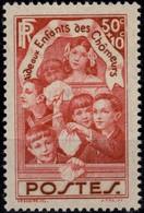 FRANCE 312 ** MNH Aide Aux Enfants Des Chômeurs 1936 (CV 8 €) - Nuevos