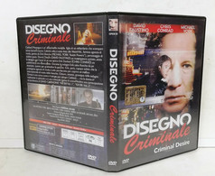 00884 DVD - DISEGNO CRIMINALE - David Faustino, Chris Conrad, Michael York 1998 - Politie & Thriller