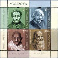 "Moldova 2019 ""Personalities Who Changed World History"" SS Quality:100% - Moldavia"