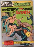 """Super Albo """"Uomo Mascherato/ Mandrake"""" (Spada 1962)  N. 8 - Non Classificati"""
