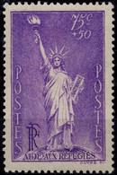 FRANCE 309 * MLH Statue De La Liberté à NEw-York Oeuvre De Bartholdi, Structure Eiffel 1936 (CV 11 €) - Nuevos