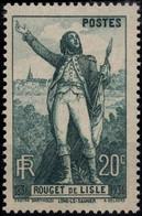 FRANCE 314 ** MNH Rouget De Lisle Statue à Lons-le-Saunier Hymne Marseillaise 1936 (CV 7 €) - Nuevos