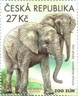 ** 993 Czech Rep. Nature Protection: Zoological Gardens III 2018 Elephant - Elefanti