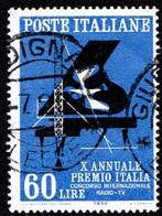 ITALIA - 1958 - X Annuale Del Premio Italia - - 1946-60: Used
