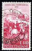 ITALIA - 1959 - Centenario Della II Guerra D'indipendenza - (RD20004) - 1946-60: Used