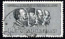 ITALIA - 1959 - Centenario Della II Guerra D'indipendenza - (RD20024) - 1946-60: Used
