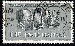 ITALIA - 1959 - Centenario Della II Guerra D'indipendenza - (RD20020) - 1946-60: Used