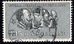 ITALIA - 1959 - Centenario Della II Guerra D'indipendenza - (RD20015) - 1946-60: Used
