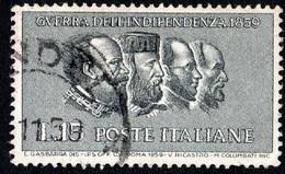 ITALIA - 1959 - Centenario Della II Guerra D'indipendenza - (RD20010) - 1946-60: Used