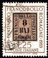 ITALIA - 1959 -Centenario Francobolli Delle Romagne - (RID10009) - 1946-60: Used