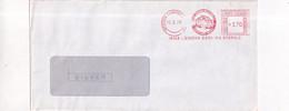 ITALIA AFFRANCATURE MECCANICHE ROSSE EMA- DOMENICHELLI AUTOTRASPORTI -GENOVA   - 1978- - Machine Stamps (ATM)