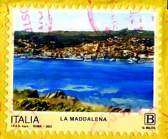 IT 4172 FRANCOBOLLO STAMP ITALIA 2021 USED LA MADDALENA - 2011-...: Used