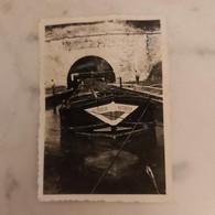 Ancienne Péniche (victorieux) Photo 9cm/6cm - Boats