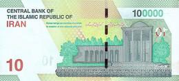 NEU IRAN Banknote 100.000 Rials 2021 Kassenfrisch (UNC) - Iran
