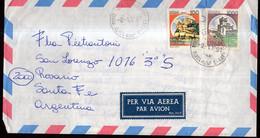 Italia - 1991 - Lettera - Per Via Aerea - Par Avion -> Argentina - A1RR2 - 1991-00: Marcophilia
