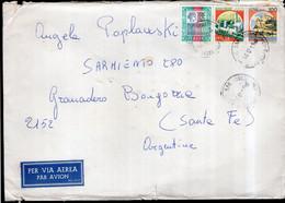 Italia - 1988 - Lettera - Per Via Aerea - Par Avion -> Argentina - A1RR2 - 1981-90: Marcophilia