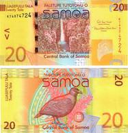Samoa 20 Tala 2017 UNC - Samoa