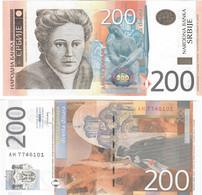 Serbia 200 Dinars 2013 UNC - Serbia