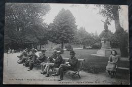 CPA Paris (75000) Parc Montsouris – - Phototypie Le Deley 126 - Animée - A Voyagé En 1903. - Unclassified